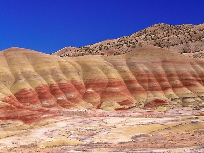 Кольорова пустеля на плато Колорадо (9)