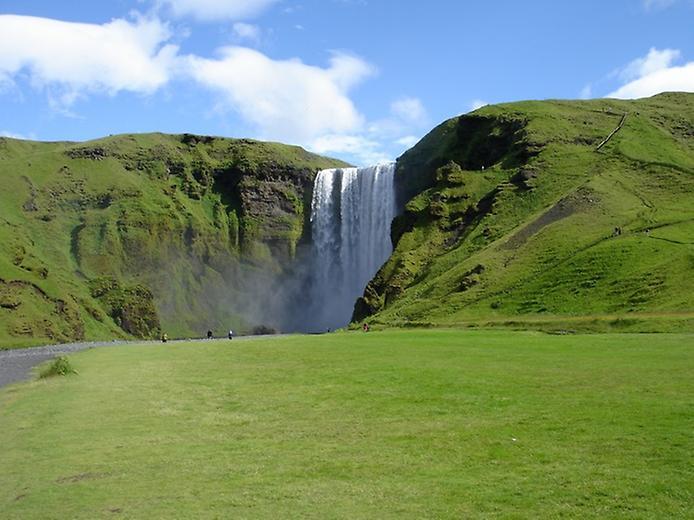 Скогафос - найзнаменитіший водоспад Ісландії (6)