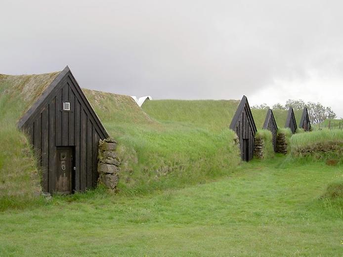 Традиційні будинки Ісландії (8)