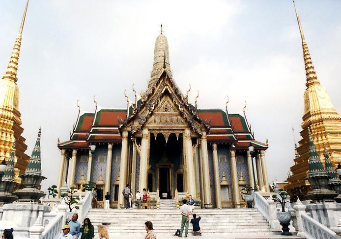 Храм Смарагдового Будди. Ват Пхра Кео (7)
