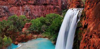 Водоспад Хавасу в Гранд Каньйоні (7)