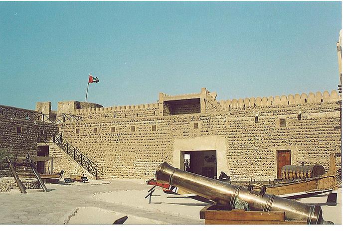 Дивовижний музей Форт Аль-Фахіді в ОАЕ (4)