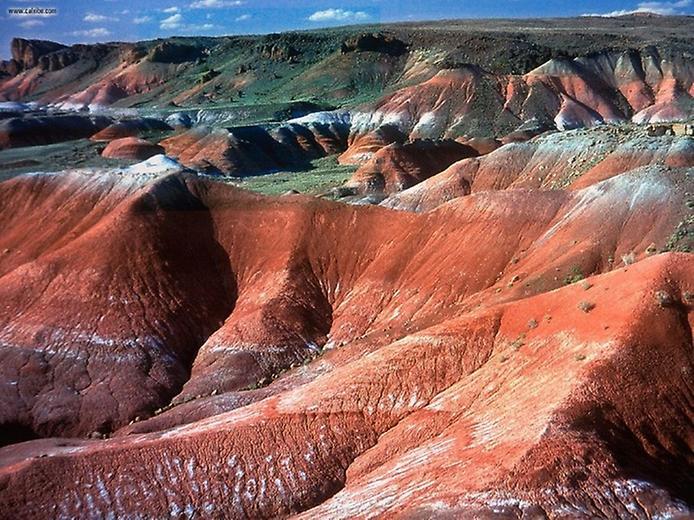 Кольорова пустеля на плато Колорадо (8)