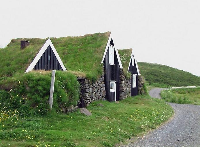 Традиційні будинки Ісландії (7)