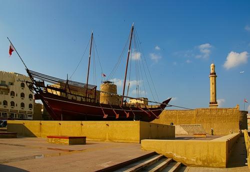 Дивовижний музей Форт Аль-Фахіді в ОАЕ (1)