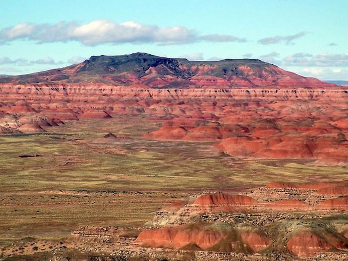 Кольорова пустеля на плато Колорадо (7)