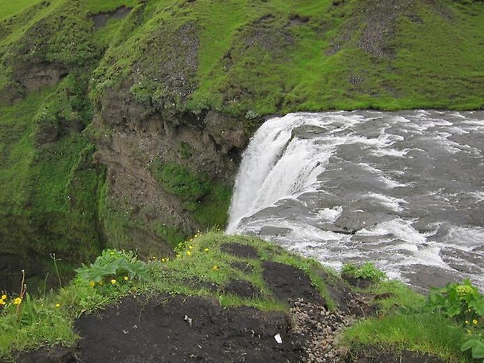 Скогафос - найзнаменитіший водоспад Ісландії (4)