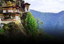 Ширяючий над землею монастир Такцанг-Лакханг в Бутані (2)