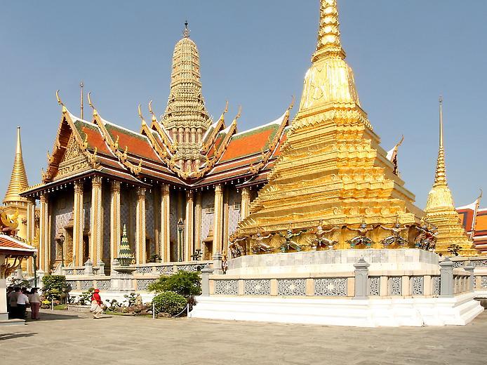 Храм Смарагдового Будди. Ват Пхра Кео (6)