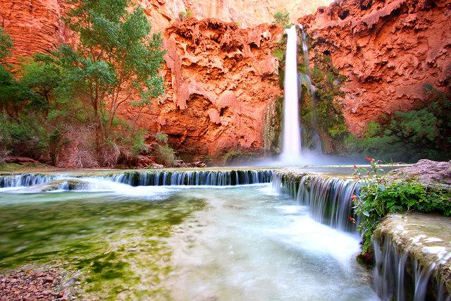 Водоспад Хавасу в Гранд Каньйоні (6)