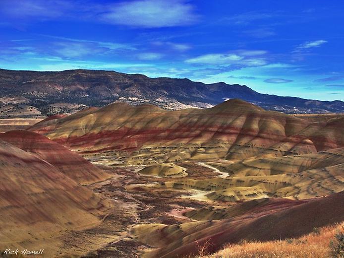 Кольорова пустеля на плато Колорадо (6)