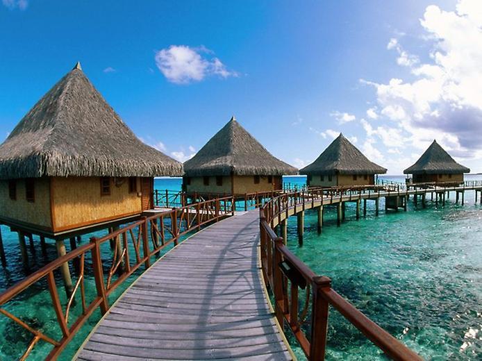 Острови Туамоту. Найбільший ланцюг атолів в світі (6)