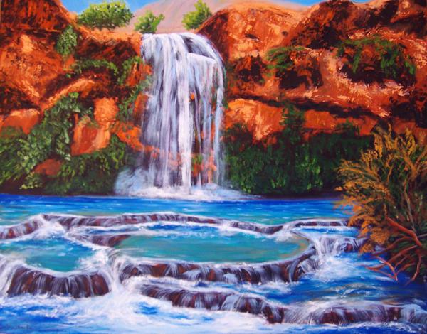 Водоспад Хавасу в Гранд Каньйоні (5)