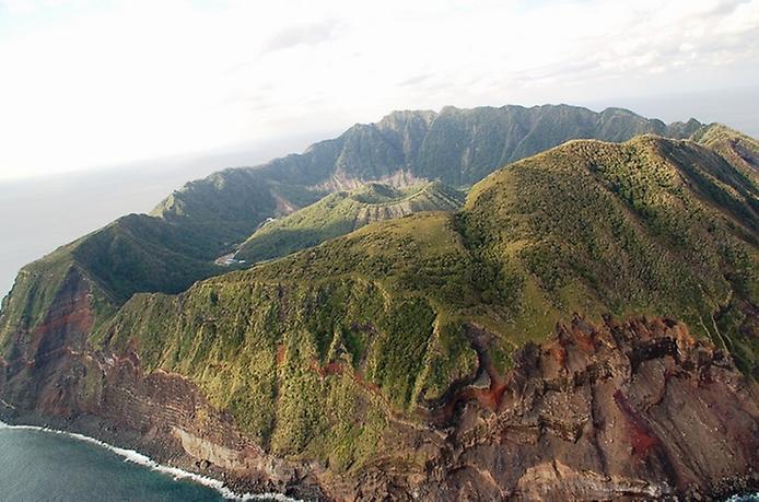 Найнезвичайніший вулканічний острів Японії. Аогашіма (7)