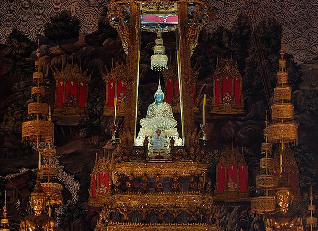 Храм Смарагдового Будди. Ват Пхра Кео (4)