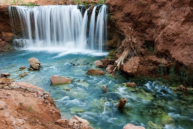 Водоспад Хавасу в Гранд Каньйоні (4)