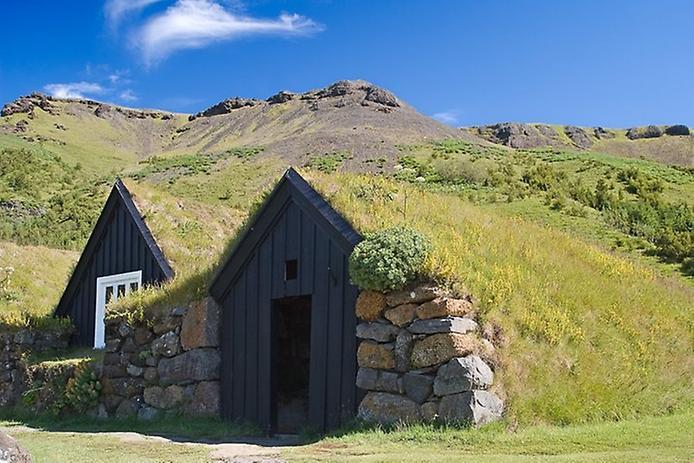 Традиційні будинки Ісландії (4)