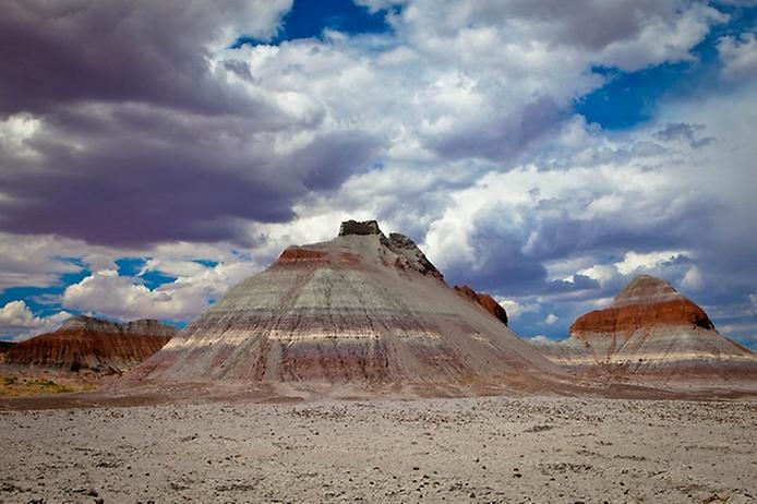 Кольорова пустеля на плато Колорадо (3)
