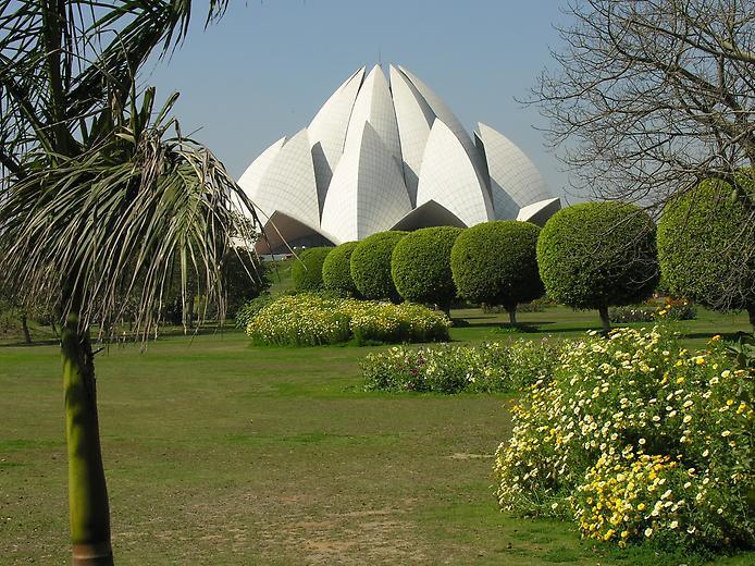 Храм Лотоса. Дивовижна квітка Нью-Делі (4)