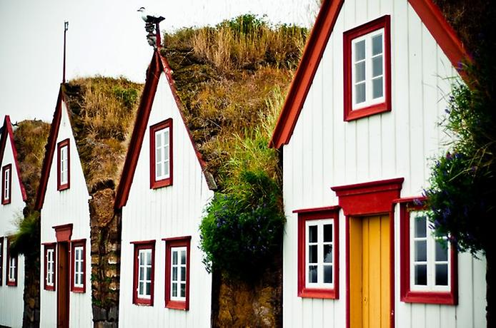 Традиційні будинки Ісландії (2)