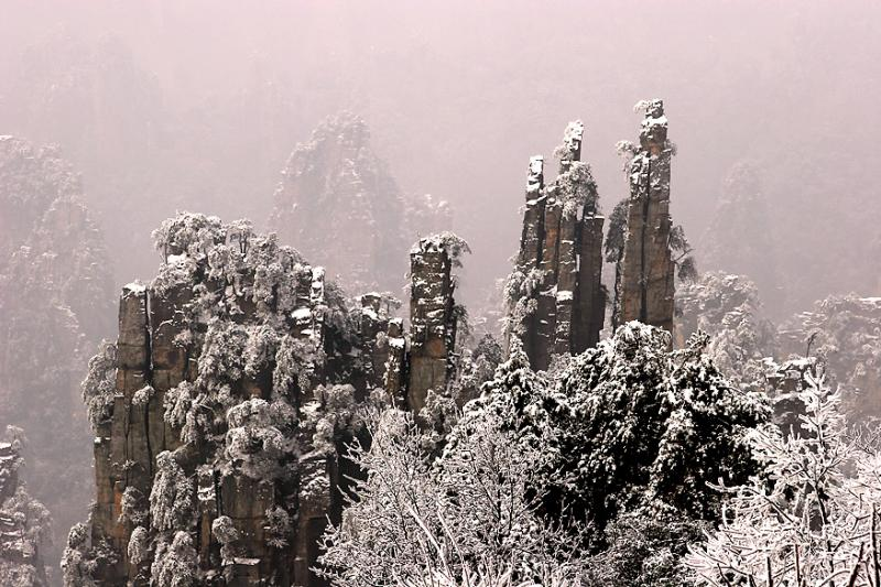 мальовничі гори Улін'юань