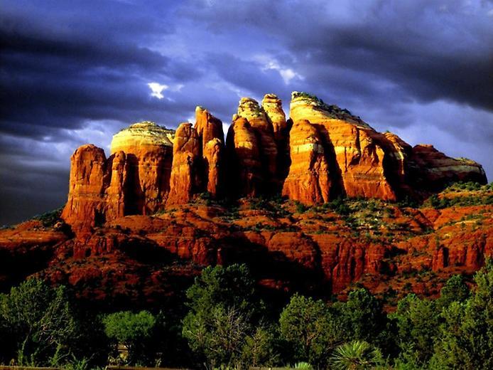 Червоні скелі Седона в Арізоні (8)