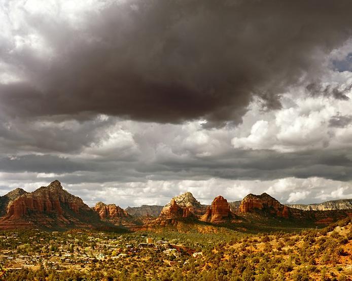 Червоні скелі Седона в Арізоні (2)