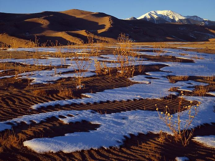 Великі Піщані дюни. Національний парк в Колорадо (7)
