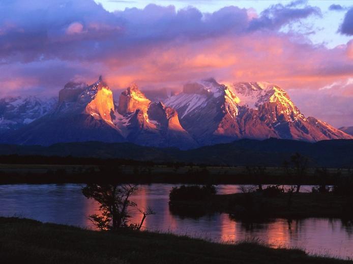 Національний парк Торрес дель Пейн в Патагонії (9)