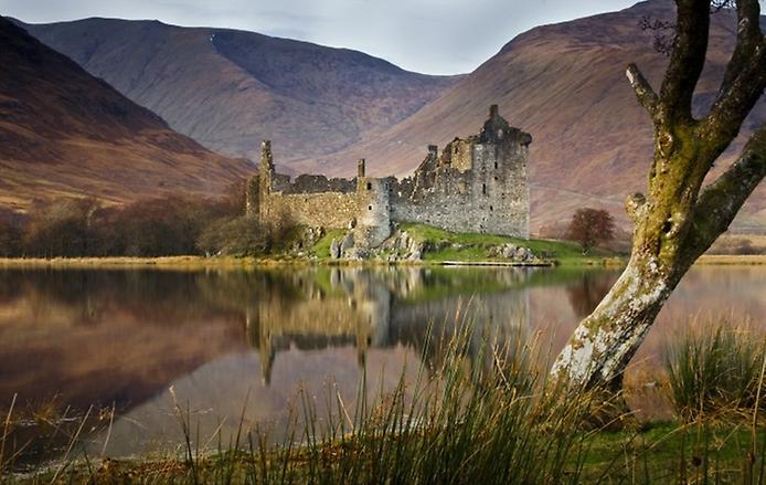 Замок Кілхурн в Шотландії (1)