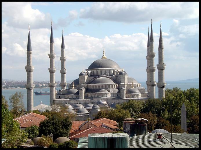 Блакитна мечеть Стамбула (1)