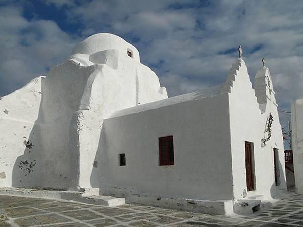Церква Парапортіані на острові Міконос