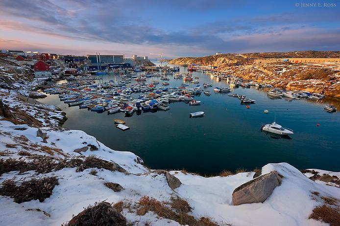 Дивовижні місцяна планеті: Залив Диско в Гренландії (1)