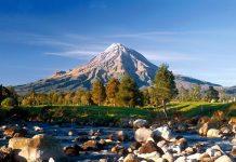 Вулкан Таранакі в Новій Зеландії (1)