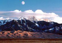 Великі Піщані дюни. Національний парк в Колорадо (1)