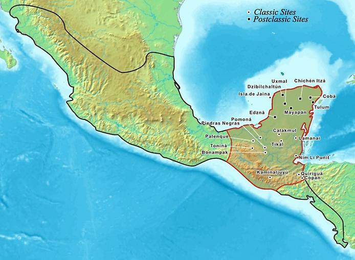 Тікаль - найбільше місто Майя (14)