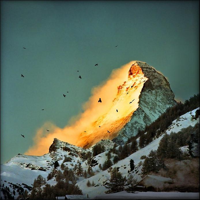 Гора Маттерхорн у Швейцарії (6)