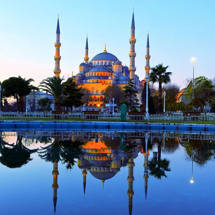 Блакитна мечеть Стамбула (6)