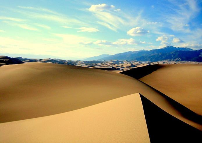 Великі Піщані дюни. Національний парк в Колорадо (2)