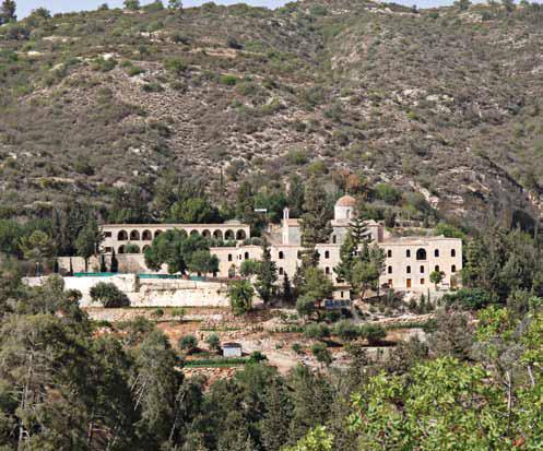 Монастир Святого Неофітоса на Кіпрі (2)