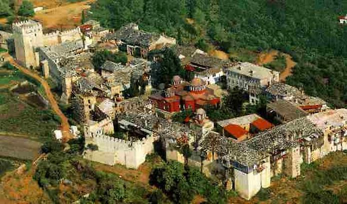 Лавра Святого Афанасія на горі Афон (3)