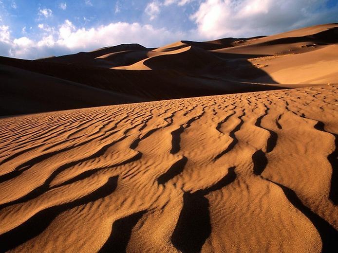 Великі Піщані дюни. Національний парк в Колорадо (3)