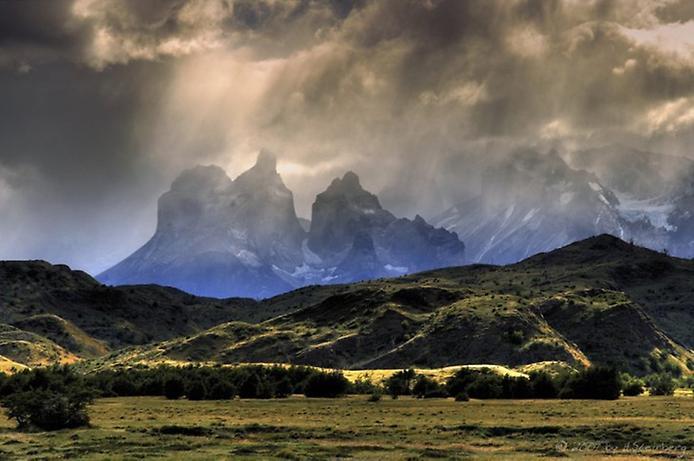 Національний парк Торрес дель Пейн в Патагонії (3)