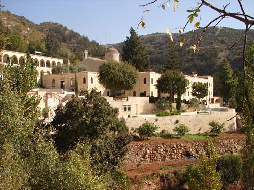 Монастир Святого Неофітоса на Кіпрі (1)
