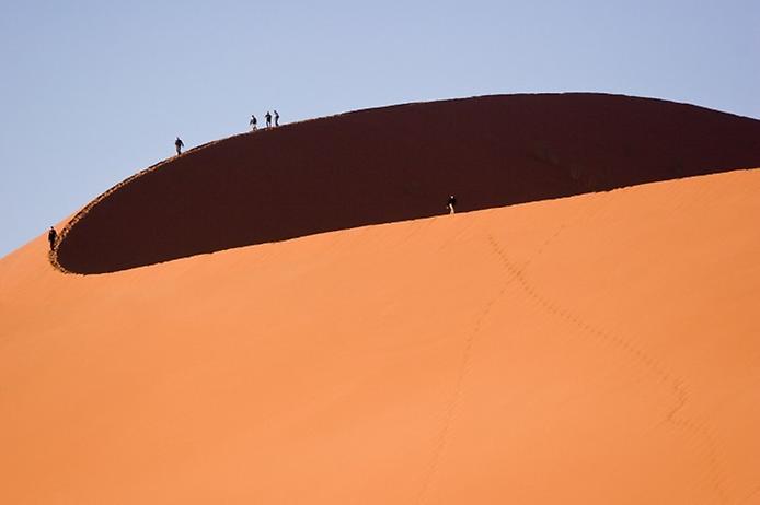 Плато Соссусфлей в пустелі Наміб (2)
