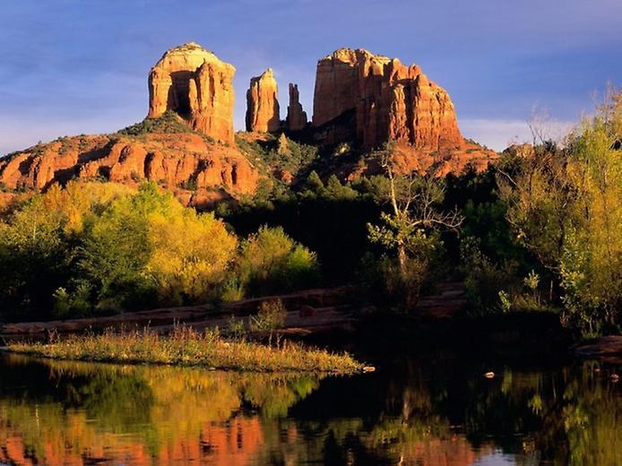Червоні скелі Седона в Арізоні (6)