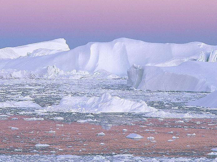 Дивовижні місцяна планеті: Залив Диско в Гренландії (5)