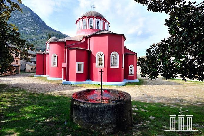 Лавра Святого Афанасія на горі Афон (1)