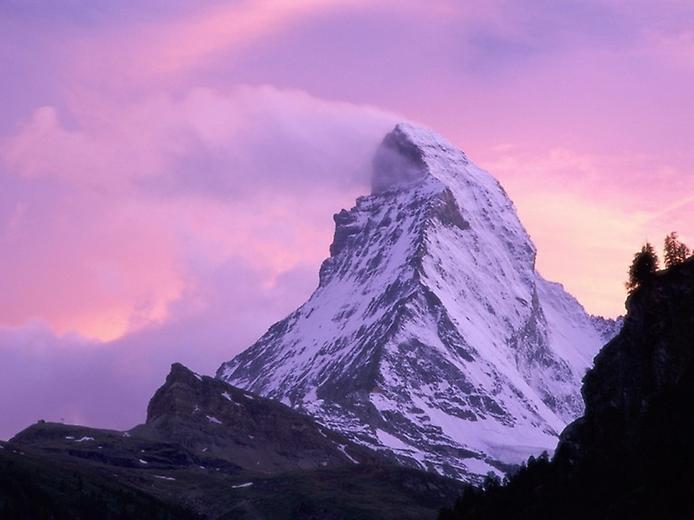 Гора Маттерхорн у Швейцарії (4)