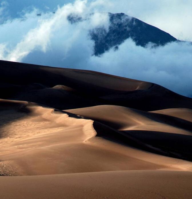 Великі Піщані дюни. Національний парк в Колорадо (4)